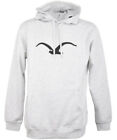 Cleptomanicx Möwe Hooded Herren Pullover Light Heather Gray
